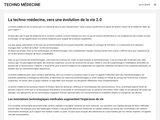 Techno Médecine